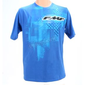 FMF Boys Royal Blue Linex T-Shirt - F422S18102RYLL