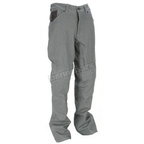 Icon Gray Hooligan Denim Pants - 2821-0578