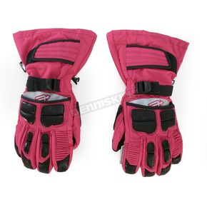 Arctiva Womens Pink Comp 8 Gloves - 3341-0238