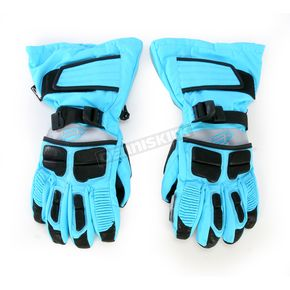 Arctiva Womens Sky Blue Comp 8 Gloves - 3341-0243