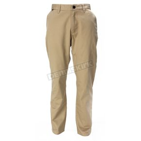 Fox Dark Khaki Throttle Chino Pants - 08025-108-28