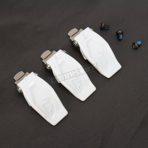 Thor White Blitz Buckle Kit - 3430-0494