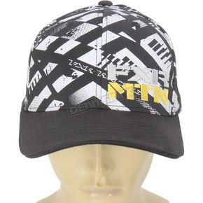 FXR Racing Black/Yellow/White Boondocker RRS Edition Vapour Hat - 14700.62008