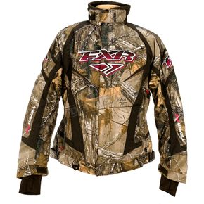 FXR Racing Womens Realtree Xtra Camo Team Jacket - 13200