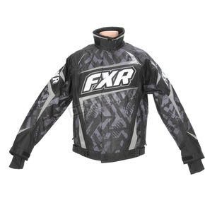 FXR Racing Charcoal Strike Helix Jacket - 14115