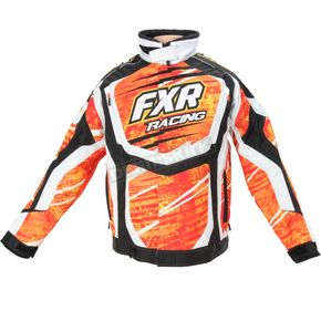 FXR Racing Red/Yellow Warp Cold Cross Jacket - 14125.65019