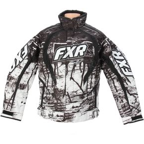 FXR Racing Black Fury Slasher Jacket - 14135