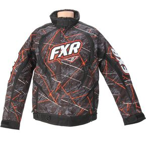 FXR Racing Orange Laser Slasher Jacket - 14135