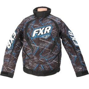 FXR Racing Blue Laser Slasher Jacket - 14135