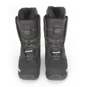 FXR Racing Black BOA H3 Backshift Boots - 14501