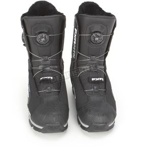 FXR Racing Black BOA H3 Focus Elevation Lite Boots - 14504