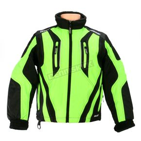 HJC Youth Black/Green Storm Jacket - 1408-042