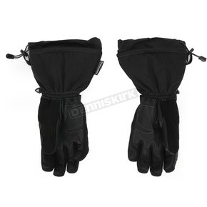 FXR Racing Black/Yellow Fuel Gloves - 15606.60119