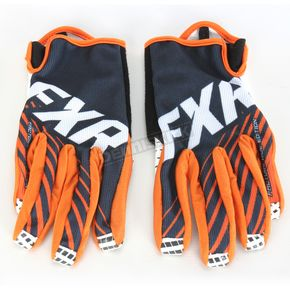 FXR Racing Black Cold Cross Race Slip-On Gloves - 15613.10022