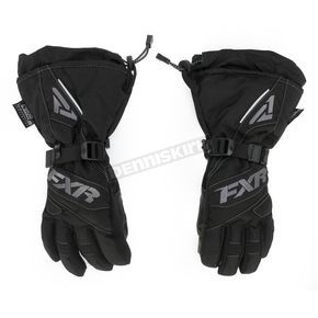 FXR Racing Womens Black/Charcoal Fusion Gloves - 15614.10010
