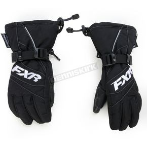 FXR Racing Childs Black Helix Race Gloves - 15619.10010