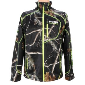 FXR Racing Realtree AP Black Camo Elevation Fleece Zip-Up - 15815.13310