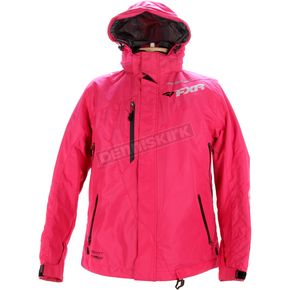 FXR Racing Womens Fuchsia Vertical Pro Jacket - 15206.90012