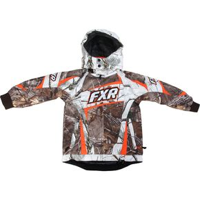 FXR Racing Childs Realtree Xtra/AP Snow Camo Helix Jacket - 15305.33302