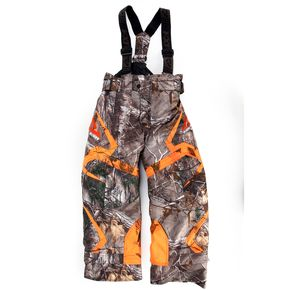 FXR Racing Childs Realtree Xtra/AP Black Orange Helix Pants - 15311.63302