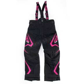 FXR Racing Youth Black/Fuchsia Helix Pants - 15312.90110