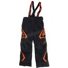 FXR Racing Youth Black/Orange Helix Pants - 15312.30110