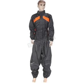 Black/Orange RS-2 Two Piece Rainsuit - 1010-2702