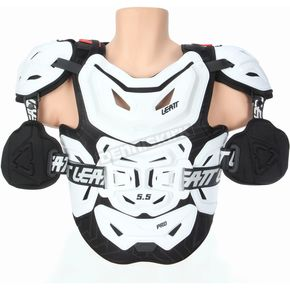 White 5.5 Pro Chest Protector - 5014101112