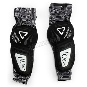 Leatt Youth Black/White 3DF Hybrid EXT Elbow Guards - 5015400605