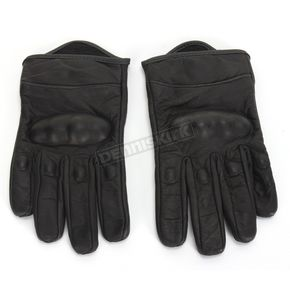 Z1R Womens Black 270 Leather Gloves - 3302-0464