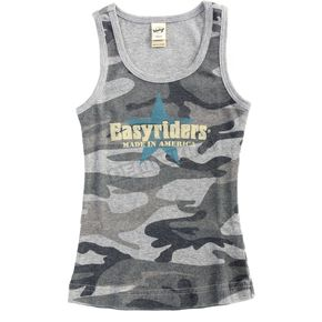 Easyriders Roadware Youth Blue Camo Vintage Star Tank - 6928-3T