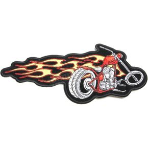 Hot Leathers Flaming Chopper Patch - PP1347