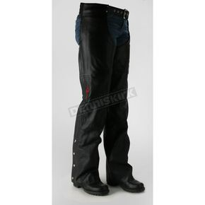 Power-Trip Ladies Leather Power Chaps  - 90440005