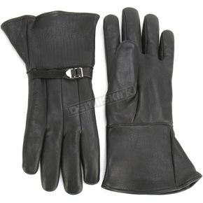 Churchill Maverick GT Gauntlet Gloves - GT-BLK-L