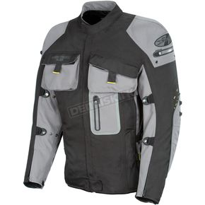 Joe Rocket Dry Tech Nano Black/Gray Jacket - 1051-0007