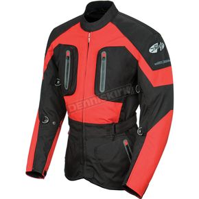 Joe Rocket Ballistic 8.0 Black/Red Jacket - 1051-1103