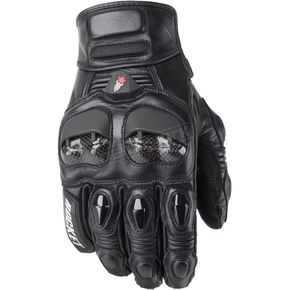 Joe Rocket Moto-Air Black Gloves - 1056-0004