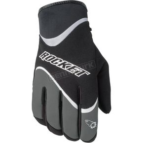 Joe Rocket Crew Black/Gunmetal Gloves - 1056-3606