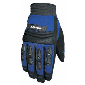 Joe Rocket Velocity Black/Blue Gloves - 1056-4203