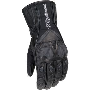 Joe Rocket Womens Pro Street Black Gloves - 1066-0004