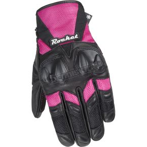 Joe Rocket Womens Cleo SR Black/Pink Gloves - 1066-1904