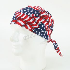 TechNiche Flag Hyperkewl Evaporative Cooling Skull Cap - 6536USA