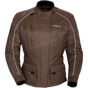 Tour Master Womens Trinity II Chocolate Jacket - 8760-0240-04