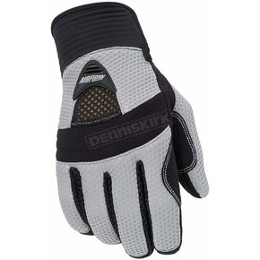 Tour Master Airflow Silver Gloves - 82-832