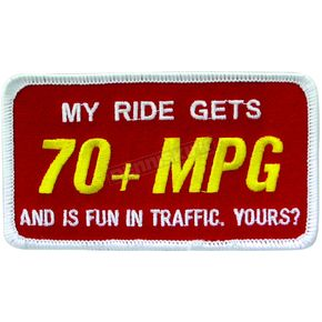 Scooter Works 70MPG Patch - PA70