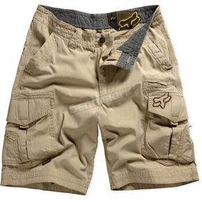 Fox Boys Dark Khaki Slambozo Cargo Shorts - 42281-108