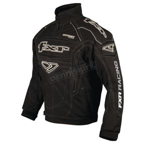 FXR Racing Black Backshift Attack Jacket - 1007