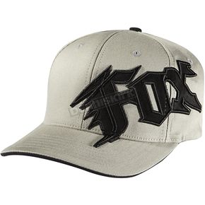 Fox Gray New Generation FlexFit Hat - 58382-006-L/XL
