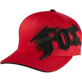 Fox Youth Red New Generation FlexFit Hat - 58403-003-OS