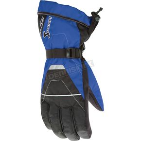 HJC Black/Blue Storm Gloves - 1012-021